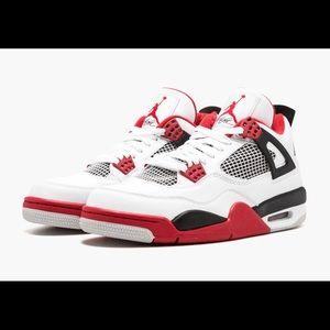 Air Jordan 4 Retro White/Red-black 2012 308497-110